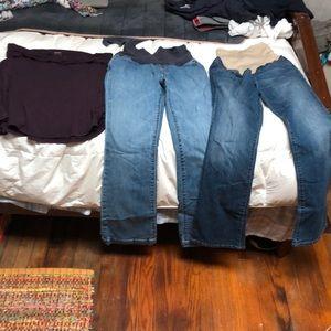 Maternity Jeans 2 & 4